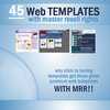 Thumbnail HUGE 45 Web Template Collection