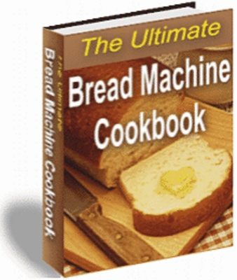 Product picture bread machine cookbook