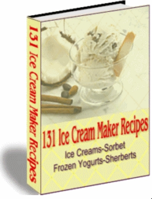 Product picture 131 Ice Cream Maker Recipes
