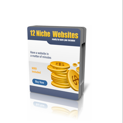 Product picture 12 Niche Web Templates